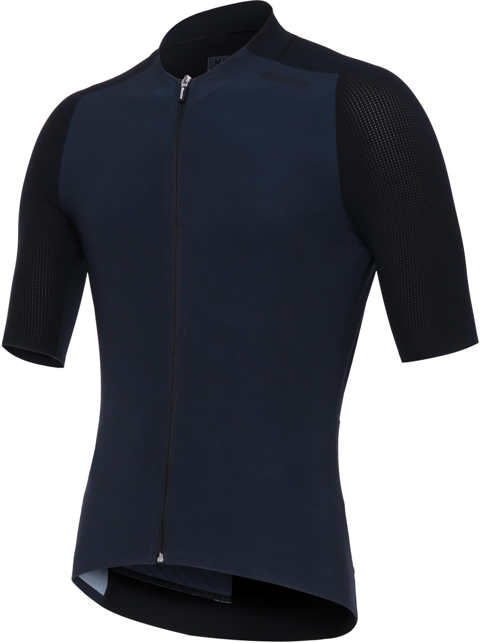 7994e01b3e69 Santini Genio maglietta a maniche corte Uomo, nero su Bikester
